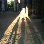 Kirkstall Abbey Shadows