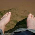 Lou's feet
