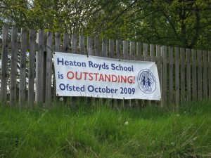Heaton Royds School is OUTSTANDING