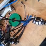 Soldering motors
